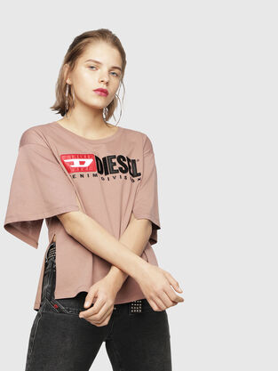 ebd0279b Womens T-shirts and Tops | Diesel Online Store