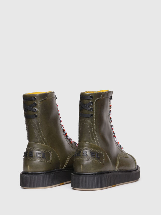 Diesel - D-CAGE DBB, Olive Green - Boots - Image 3
