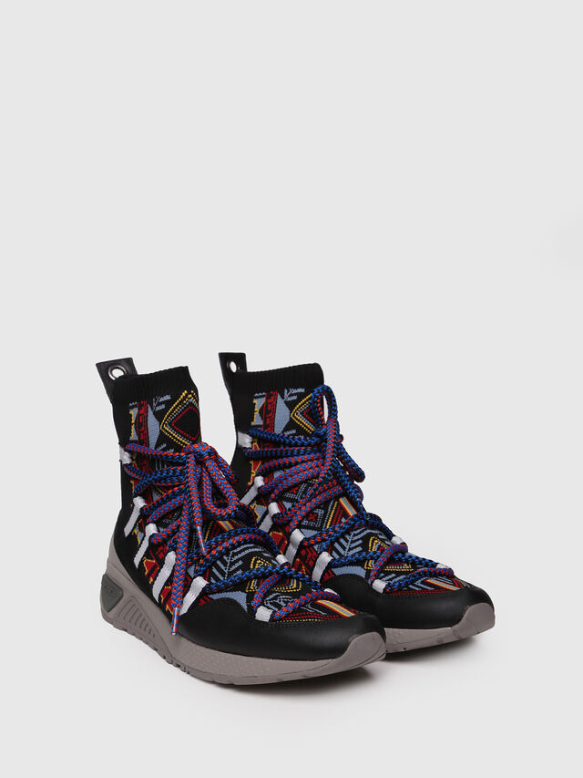 Diesel - S-KB LOOP SOCK, Multicolor - Sneakers - Image 3