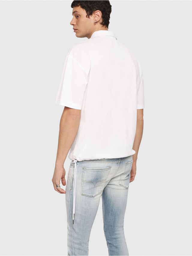 Diesel - T-PLATO, White - Polos - Image 2