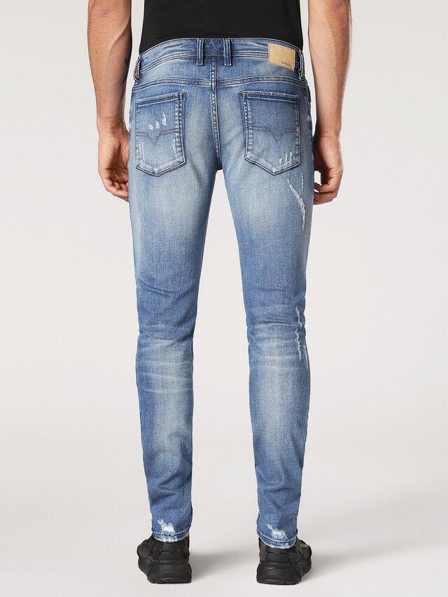 Diesel - Sleenker CN084, Light Blue - Jeans - Image 3