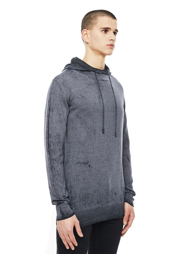 Diesel - KESULFY, Black/Grey - Sweaters - Image 5