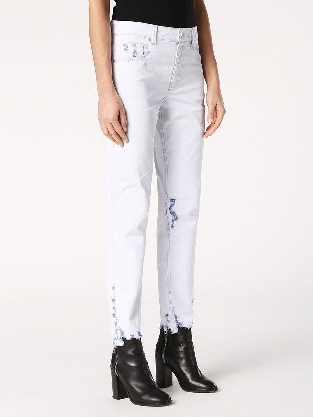 Diesel - Neekhol 003W7, White - Jeans - Image 4