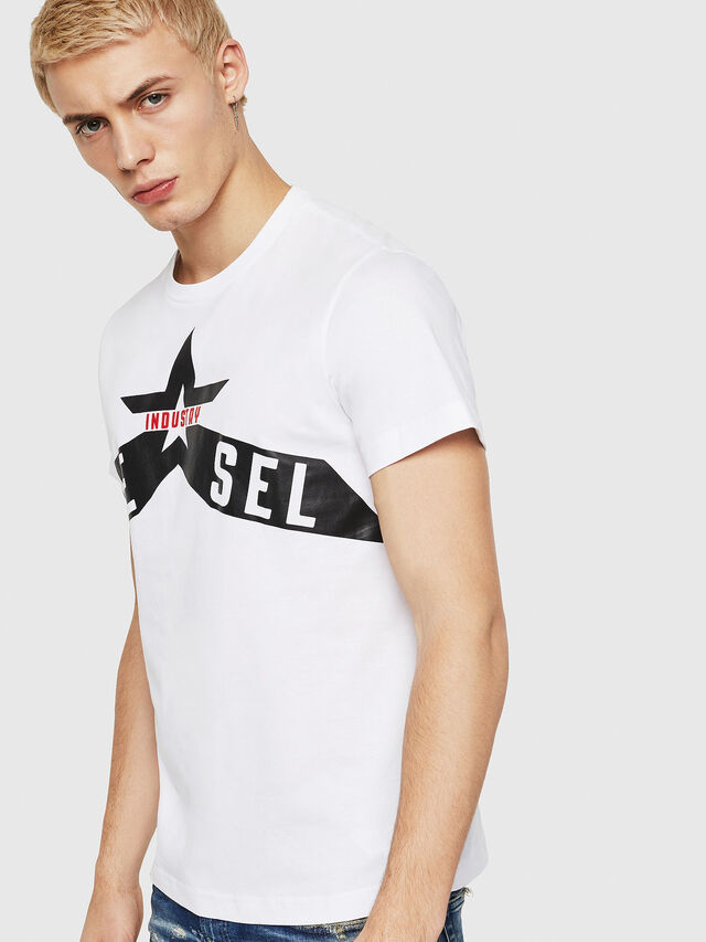 Diesel - T-DIEGO-A7, White - T-Shirts - Image 1