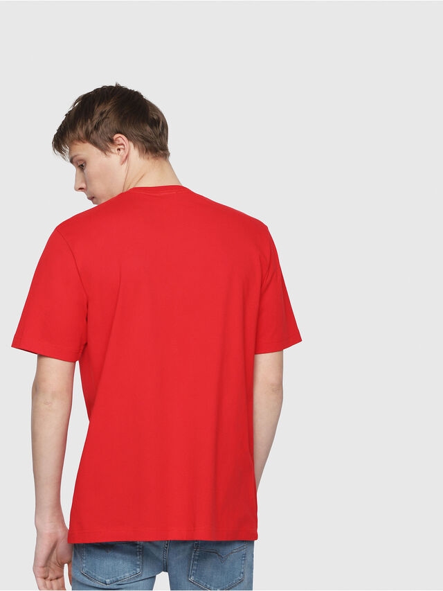 Diesel - T-JUST-Y2, Red - T-Shirts - Image 2