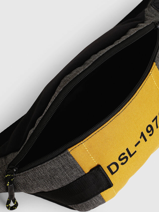 Diesel - FELTRE, Black/Yellow - Belt bags - Image 5