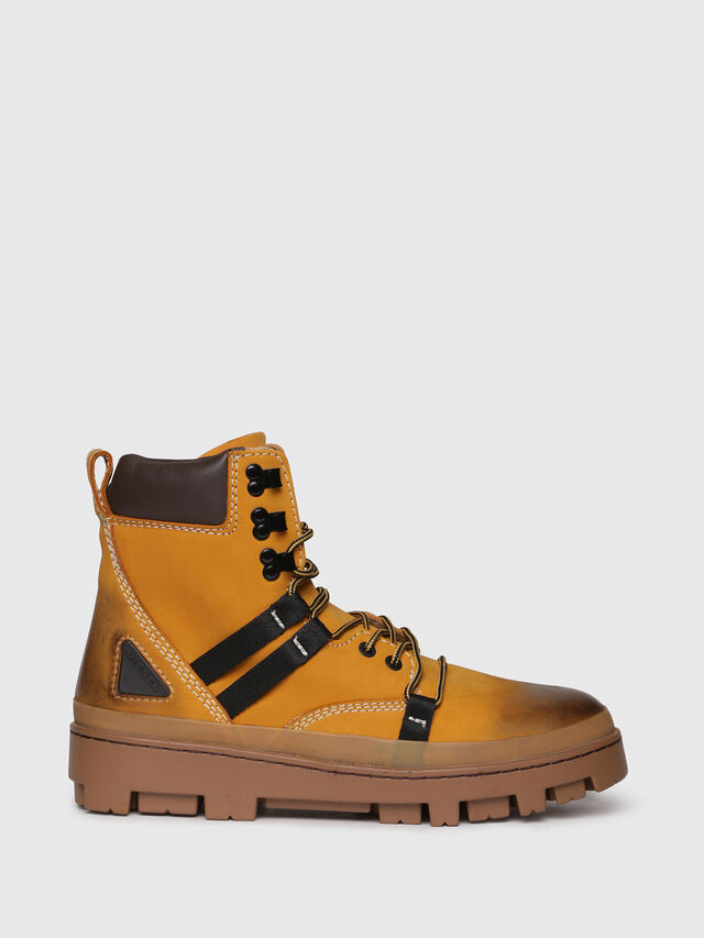Diesel - D-VIBE HIKEB, Yellow Ocher - Boots - Image 1