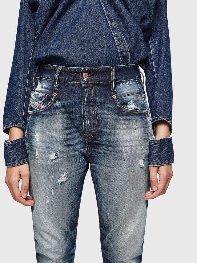 Diesel - Fayza 0092I, Medium Blue - Jeans - Image 3