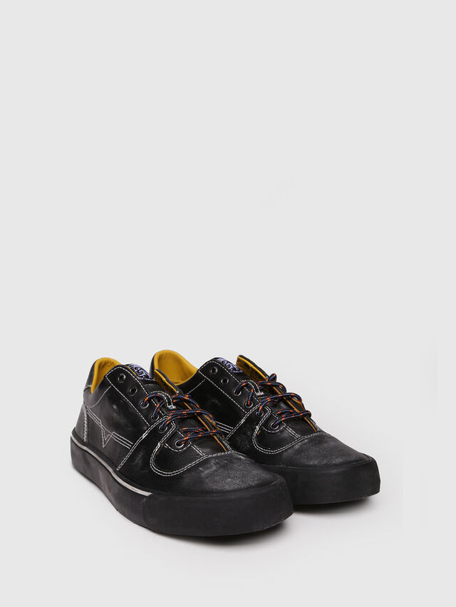 Diesel - S-FLIP LOW, Black - Sneakers - Image 3