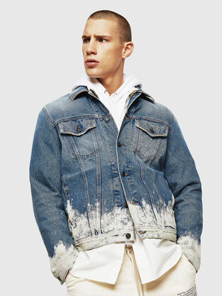 24998e9a942 Mens Jackets: denim, leather | Diesel Online Store
