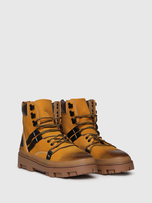 Diesel - D-VIBE HIKEB, Yellow Ocher - Boots - Image 2