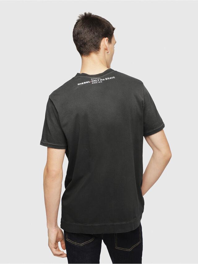 Diesel - T-SHOJI, Black - T-Shirts - Image 2