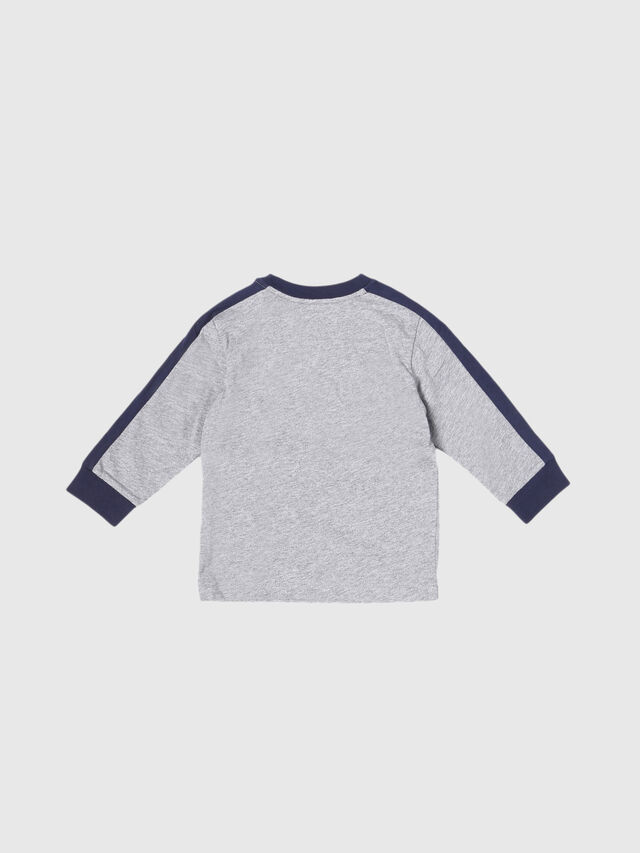 Diesel - TESMIB, Grey - T-shirts and Tops - Image 2