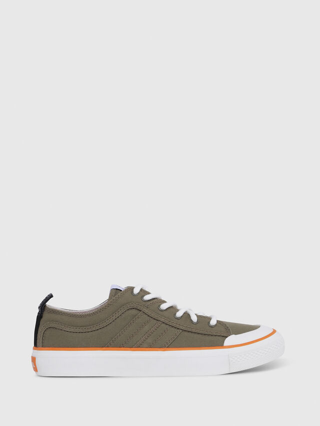 Diesel - S-ASTICO LC LOGO, Military Green - Sneakers - Image 1