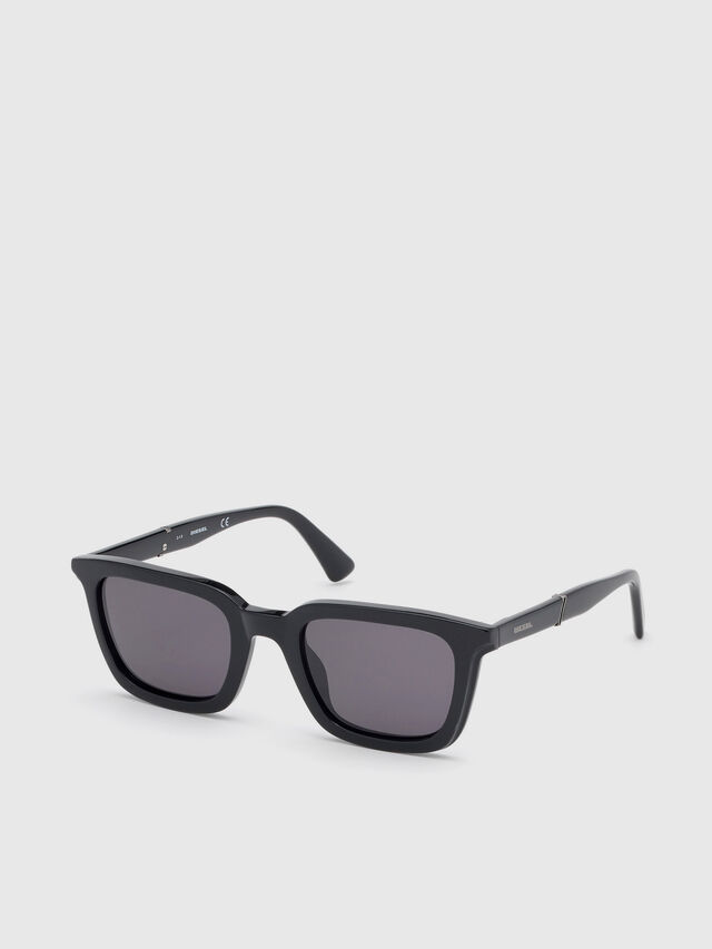 Diesel - DL0282, Black - Sunglasses - Image 2