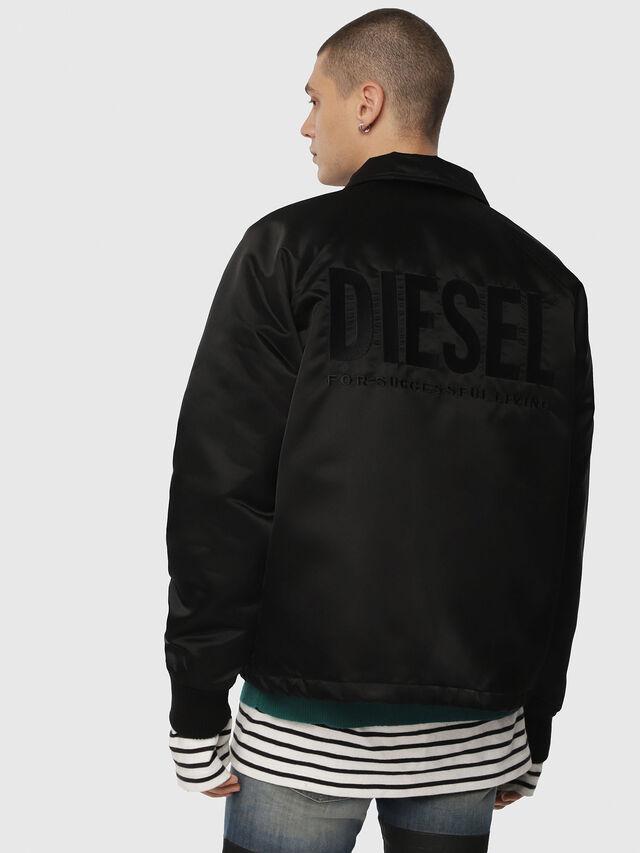 Diesel - J-AKIO, Black - Jackets - Image 2