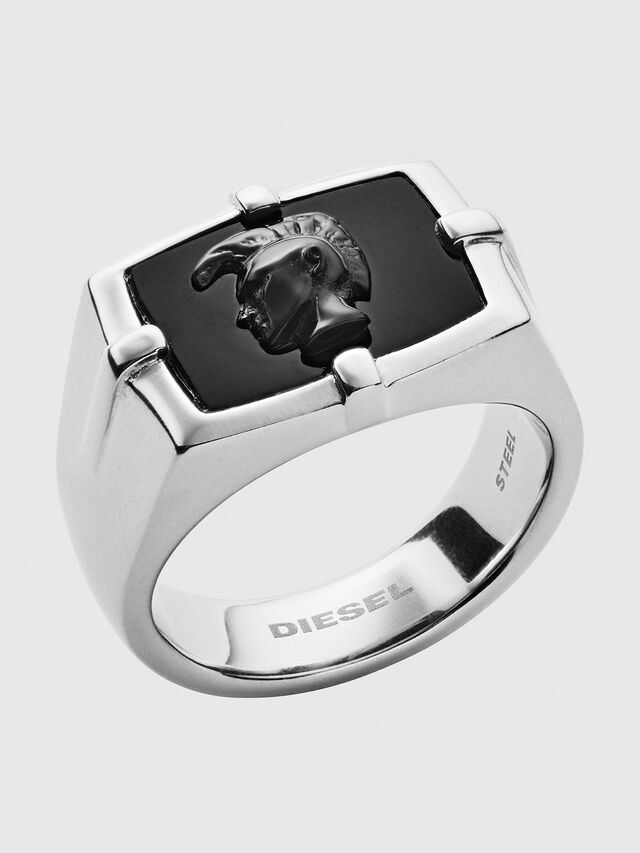 Diesel - DX1175, Silver/Black - Rings - Image 1