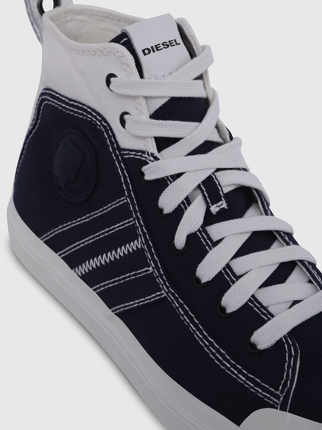 Diesel - S-ASTICO MID LACE, Blue/White - Sneakers - Image 4