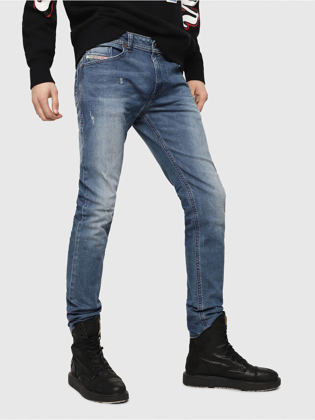 Diesel - Thommer C84KY, Medium Blue - Jeans - Image 1