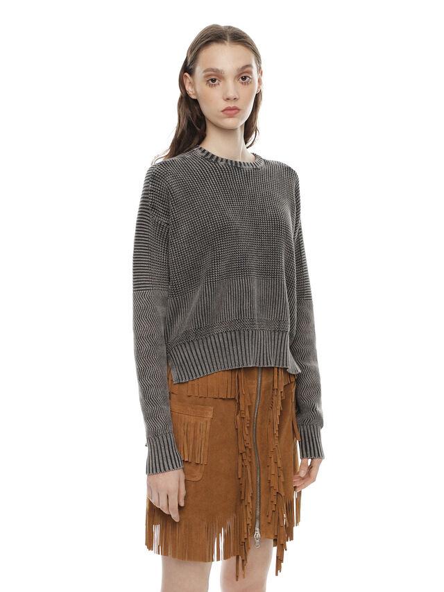 Diesel - MERIB, Grey - Sweaters - Image 3