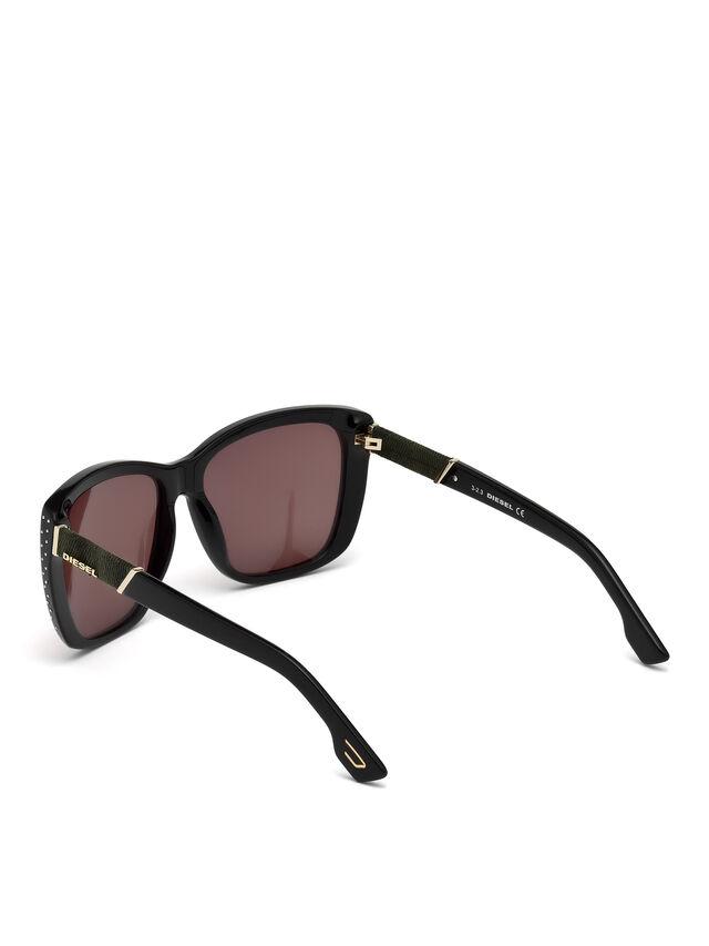 Diesel DM0089, Black - Eyewear - Image 2