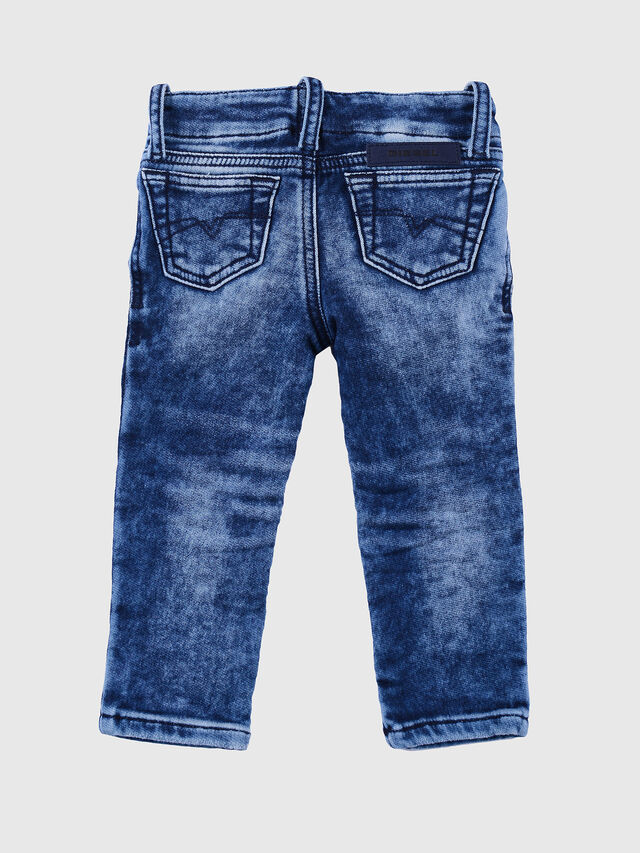Diesel - GRUPEEN-B-N JOGGJEANS, Melange Blue - Jeans - Image 2