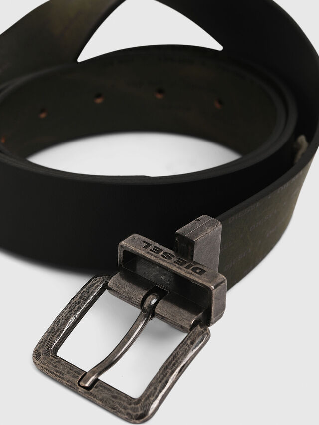 Diesel - B-DOUCKLE, Dark Green - Belts - Image 4