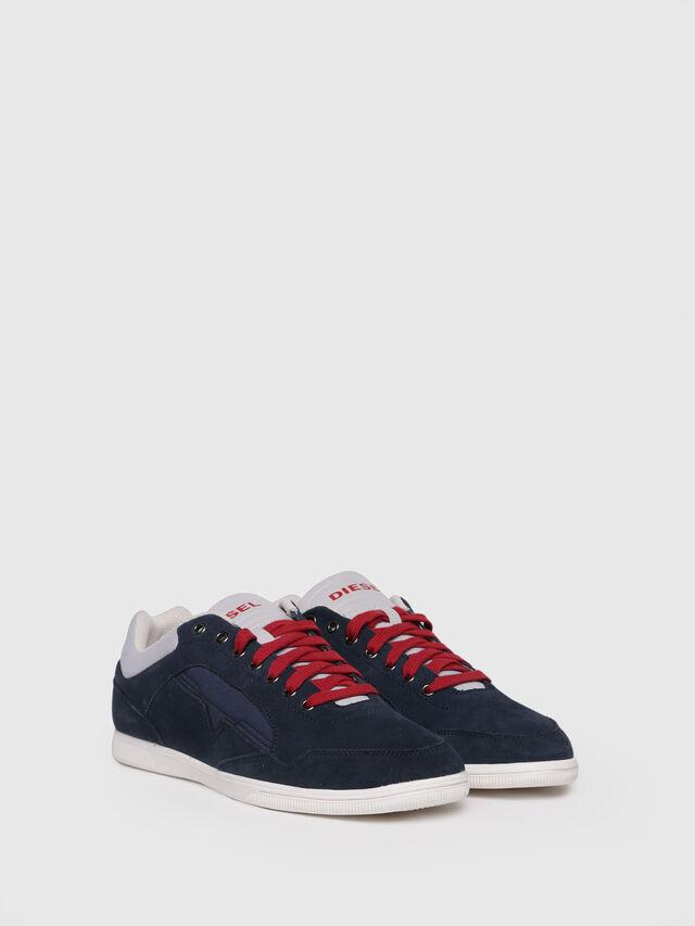 Diesel - S-HAPPY LOW, Dark Blue - Sneakers - Image 3