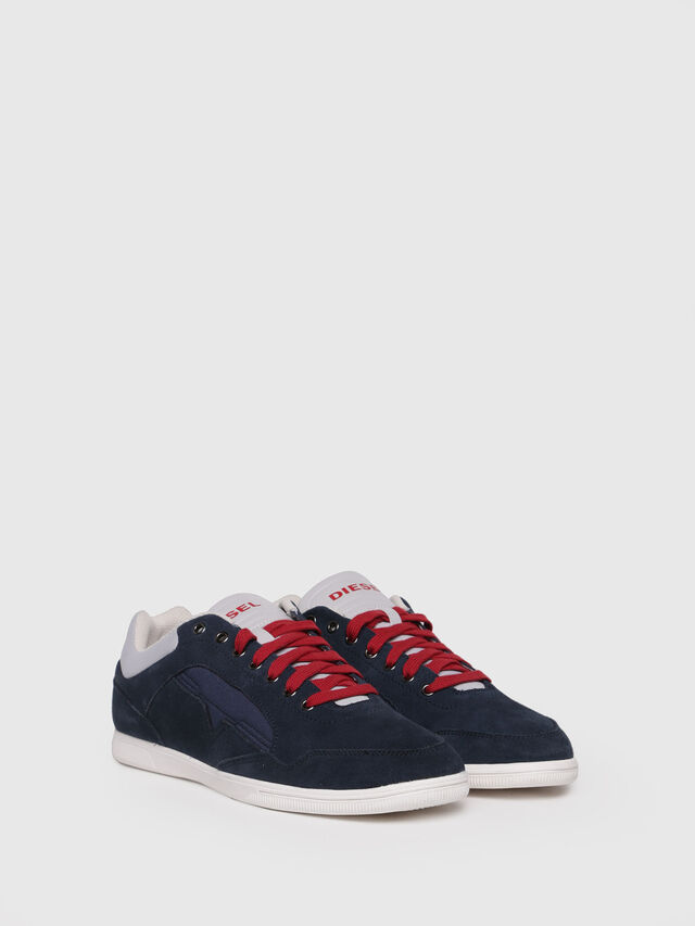 Diesel - S-HAPPY LOW, Dark Blue - Sneakers - Image 3