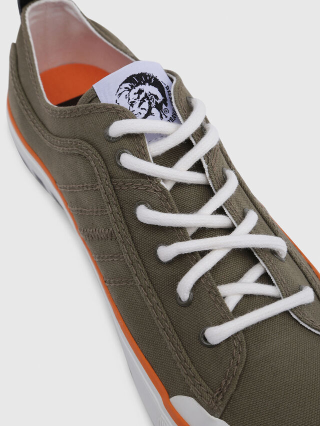 Diesel - S-ASTICO LC LOGO, Military Green - Sneakers - Image 5