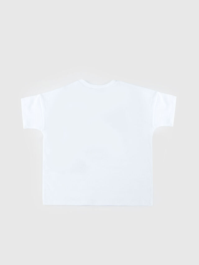 Diesel - TUBINAB, White - T-shirts and Tops - Image 2
