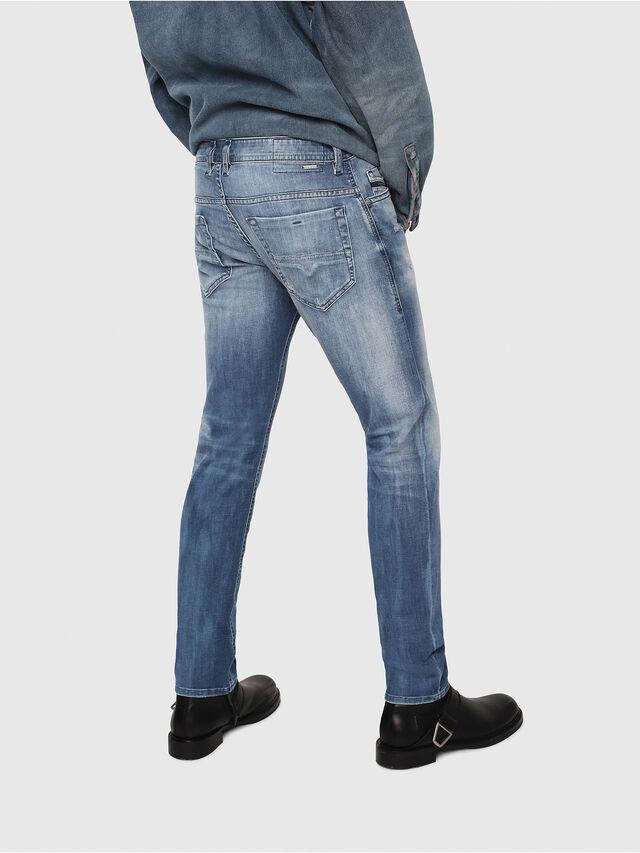 Diesel - Thommer 081AS, Medium Blue - Jeans - Image 2