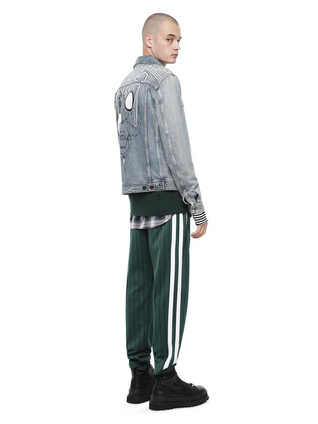 Diesel - JARTEGRAF, Blue Jeans - Jackets - Image 4