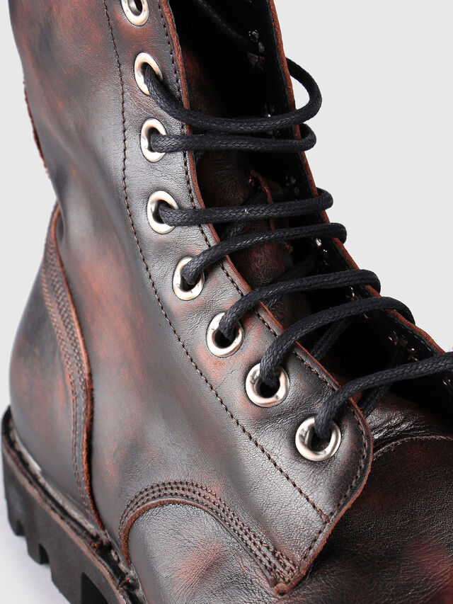 e67831eaed7 HARDKOR Men: Boots in sturdy treated leather | Diesel