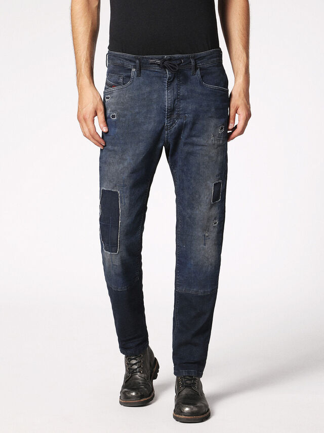 Diesel - Narrot JoggJeans 0685M, Dark Blue - Jeans - Image 2