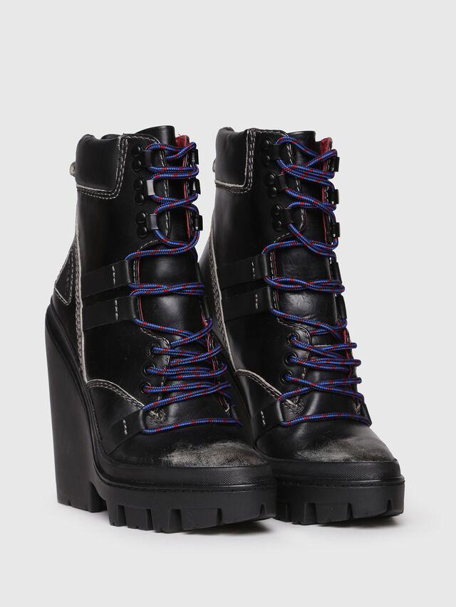 Diesel - D-VIBE MB, Black - Ankle Boots - Image 2