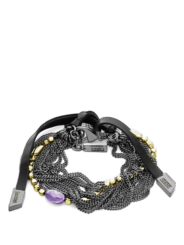 Diesel - BRACELET DX0788, Silver - Bracelets - Image 1