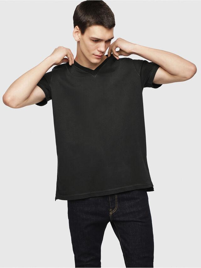 Diesel - T-SHOJI, Black - T-Shirts - Image 1