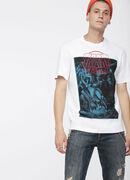 T-JUST-XQ, White/Blue - T-Shirts