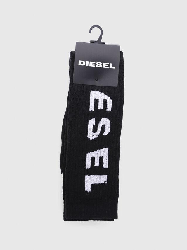 Diesel - SKM-LONG, Black - Socks - Image 2