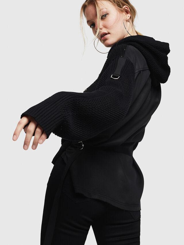 Diesel - M-MILY, Black - Sweaters - Image 4