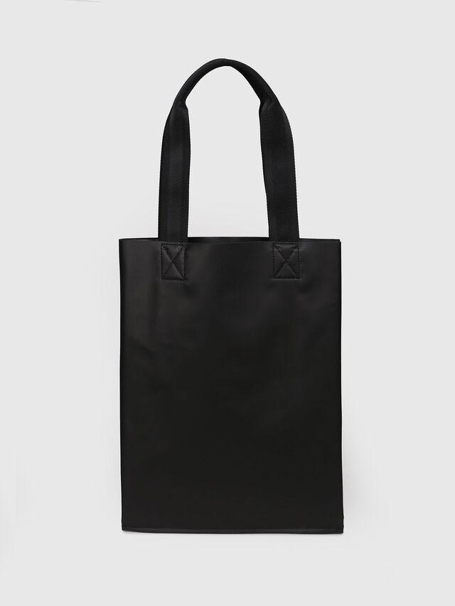 Diesel - F-BILLBOARD SHOPPER, Black/Red - Shopping and Shoulder Bags - Image 2