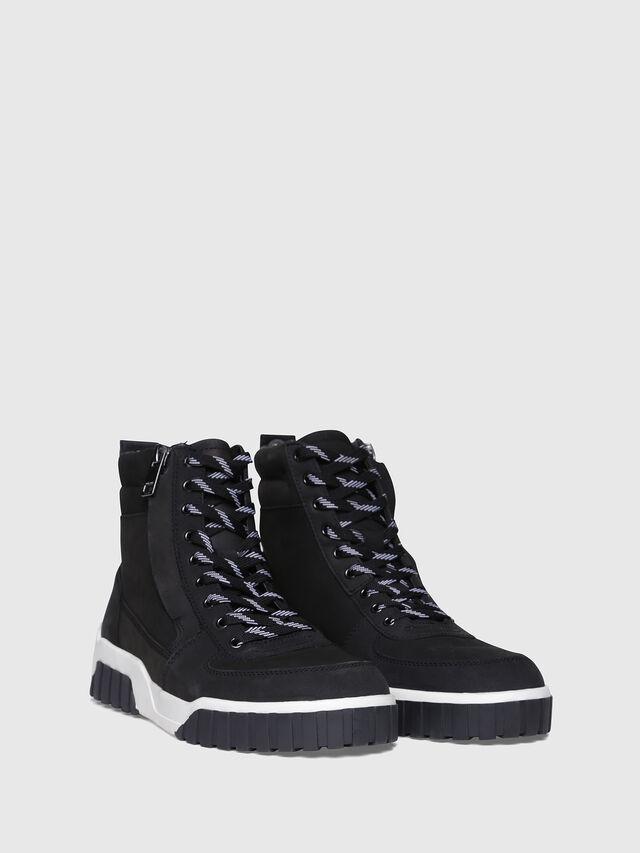 Diesel - S-RUA MC, Black - Sneakers - Image 2