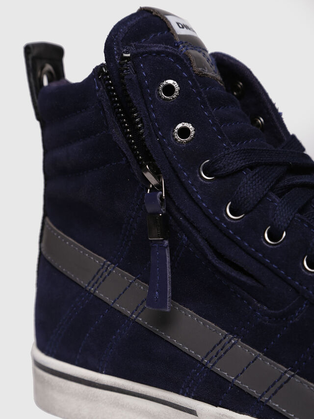 Diesel - D-VELOWS MID LACE, Dark Blue - Sneakers - Image 4