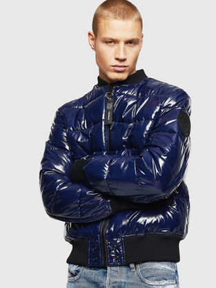 e4b397fde Mens Jackets: denim, leather | Diesel Online Store