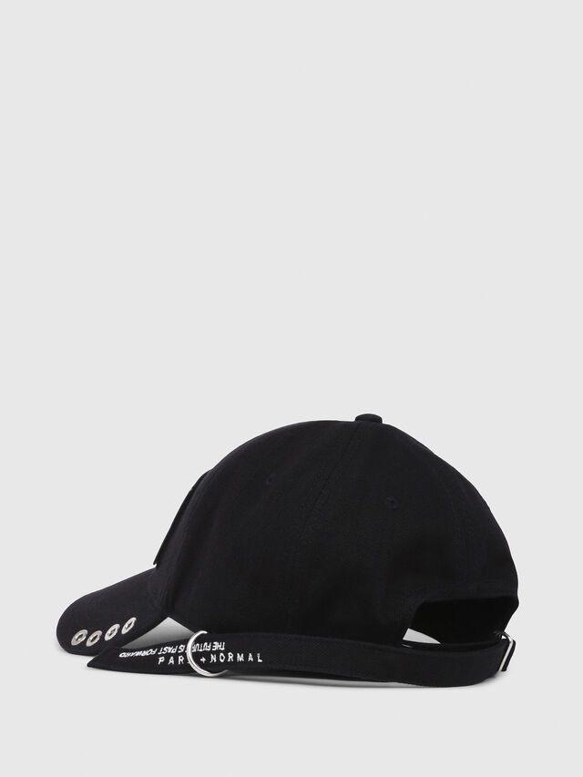 Diesel - C-BULLY, Black - Caps, Hats and Gloves - Image 2