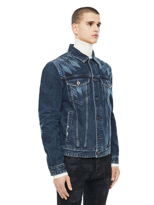 Diesel - JONDER, Blue Jeans - Jackets - Image 4