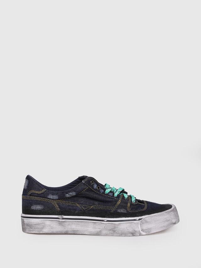 Diesel - S-FLIP LOW, Dark Blue - Sneakers - Image 1