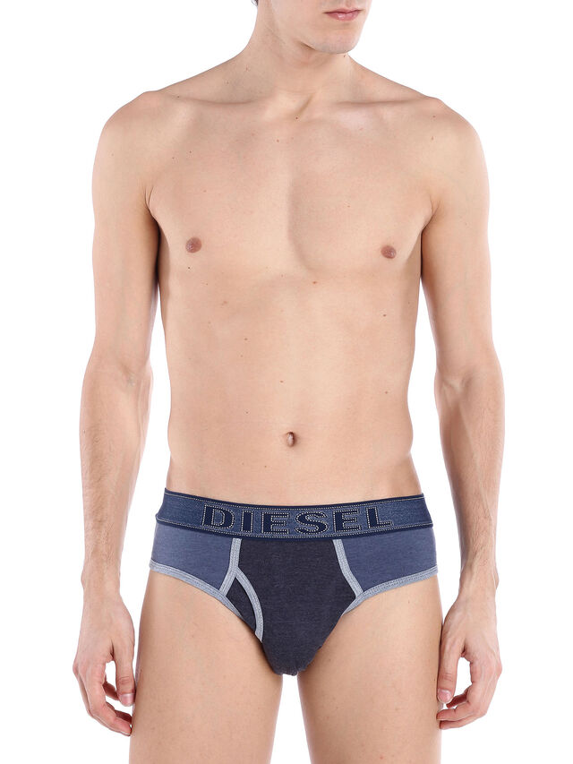 Diesel - UMBR-BLADE, Blue Dark Navy - Briefs - Image 1