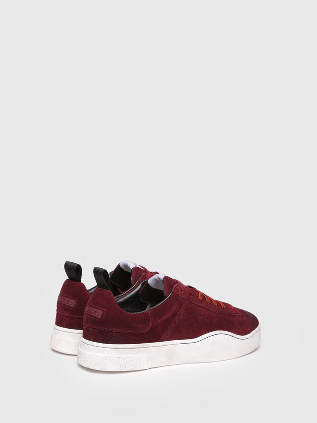 Diesel - S-CLEVER LOW, Red Wine - Sneakers - Image 3